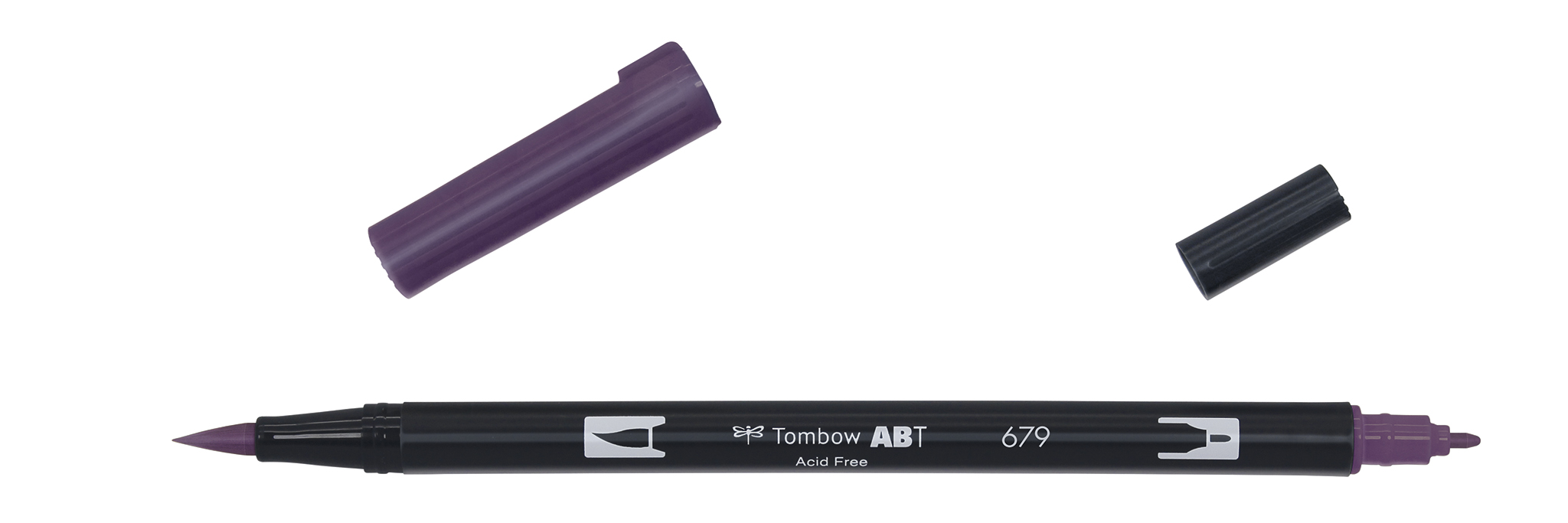Image of   Marker Tombow ABT Dual Brush 679 dark plum