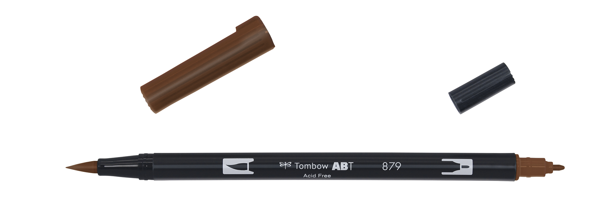 Image of   Marker Tombow ABT Dual Brush 879 brown