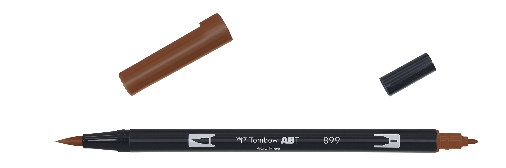 Image of   Marker Tombow ABT Dual Brush 899 redwood