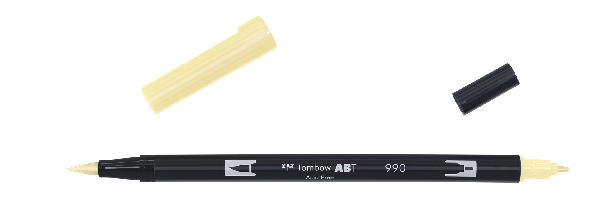 Image of   Marker Tombow ABT Dual Brush 990 light sand