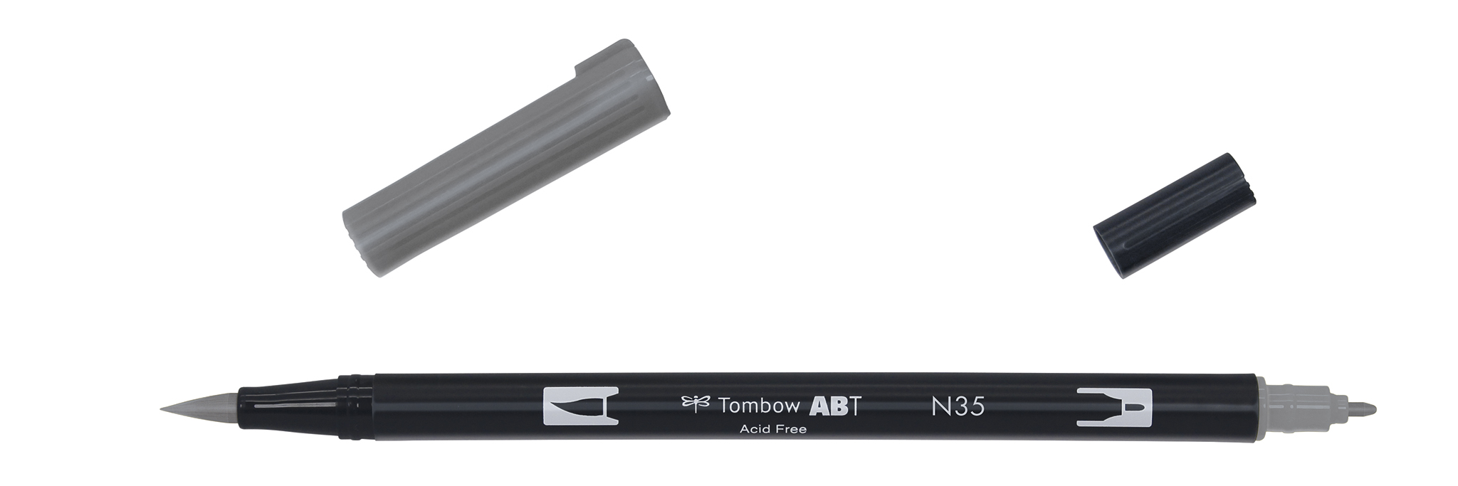 Image of   Marker Tombow ABT Dual Brush N35 cool grey 12