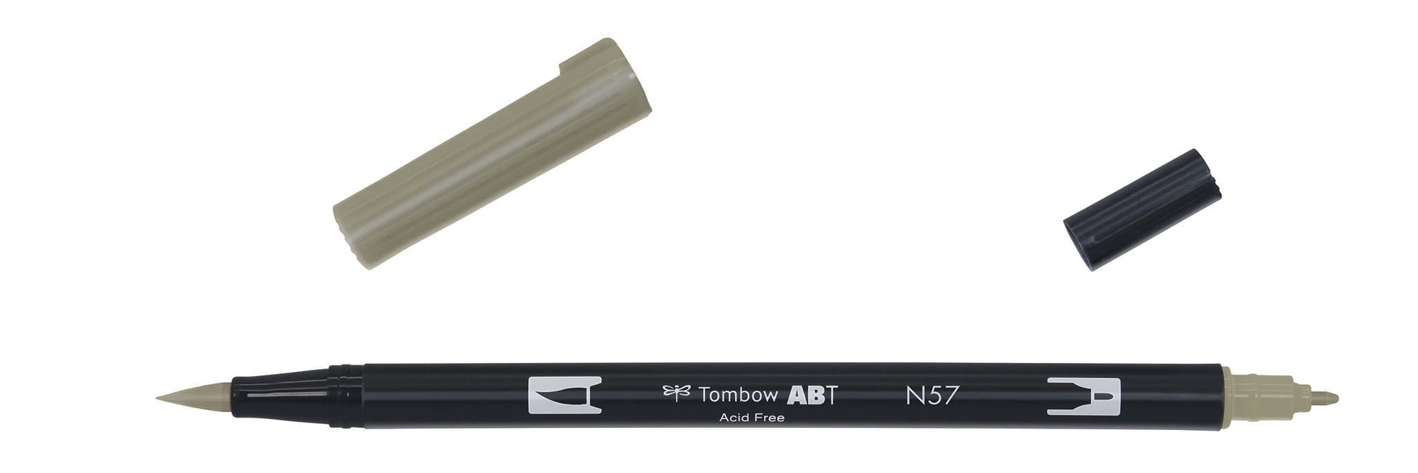 Image of   Marker Tombow ABT Dual Brush N57 warm grey 5