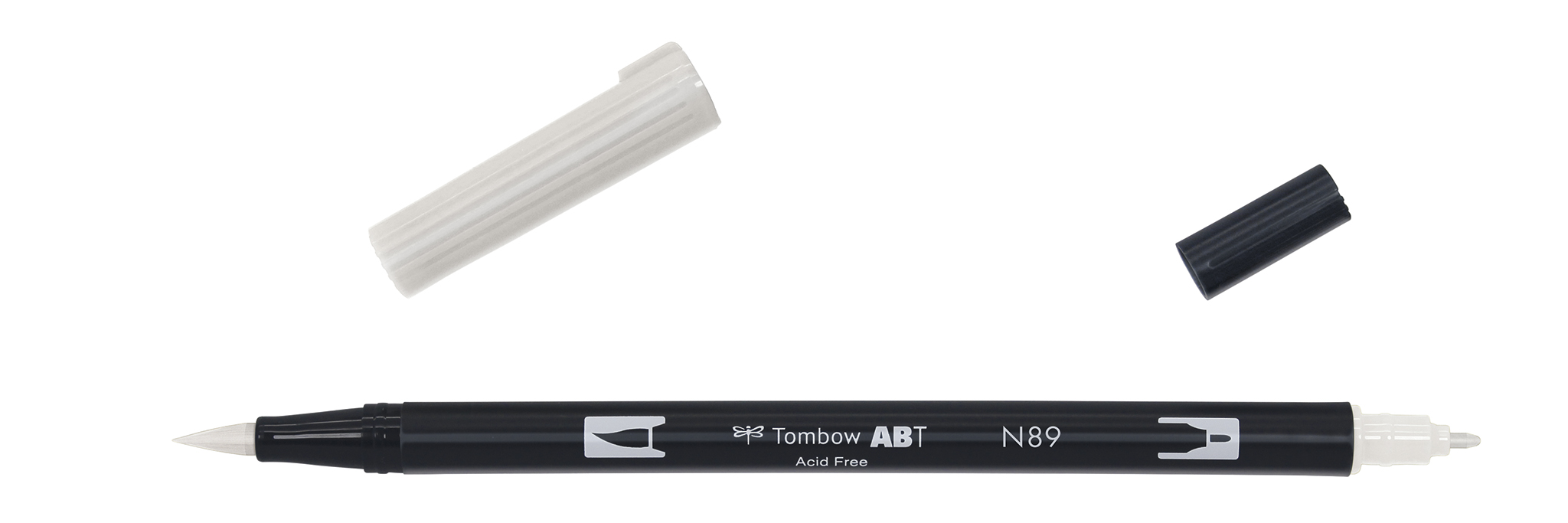 Image of   Marker Tombow ABT Dual Brush N89 warm grey 1