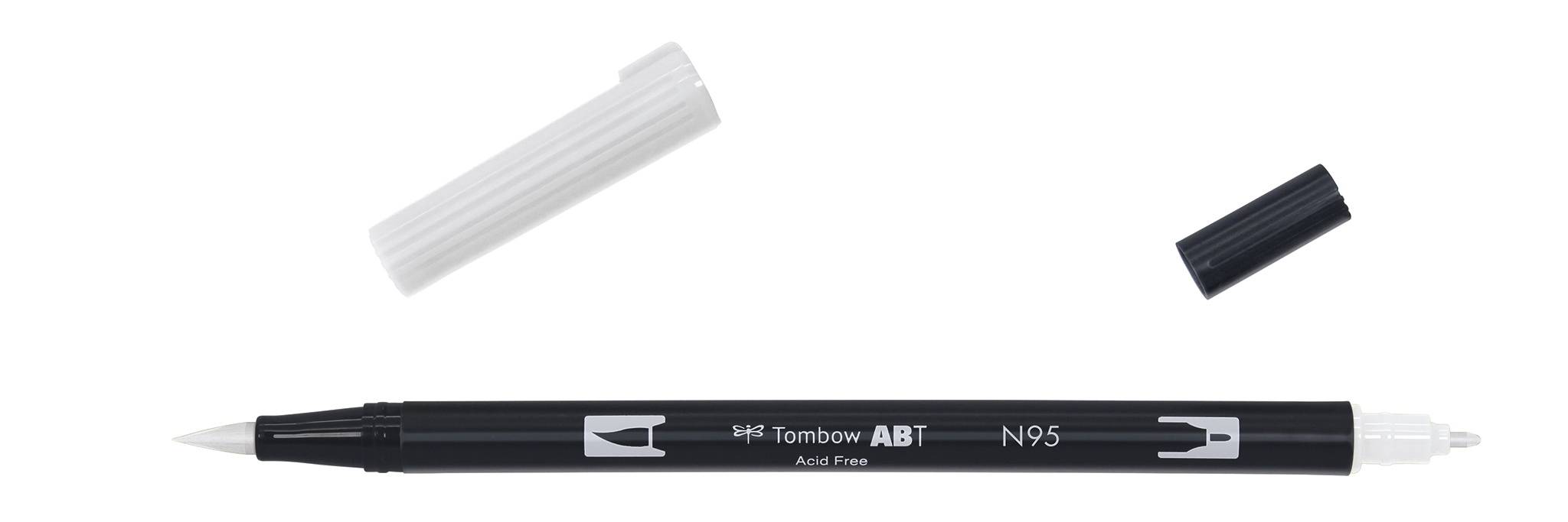 Image of   Marker Tombow ABT Dual Brush N95 cool grey 1