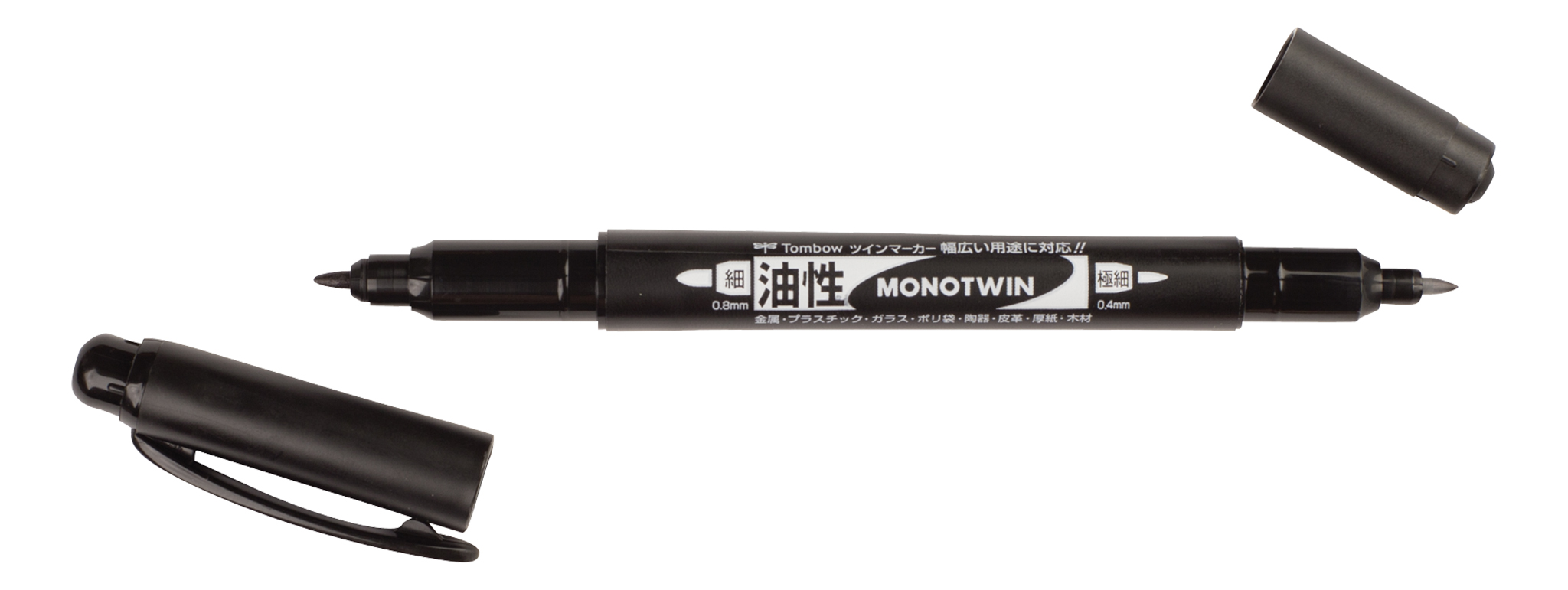 Image of   Fineliner Tombow MONO twin pen 0,4/0,8 - TOM13040