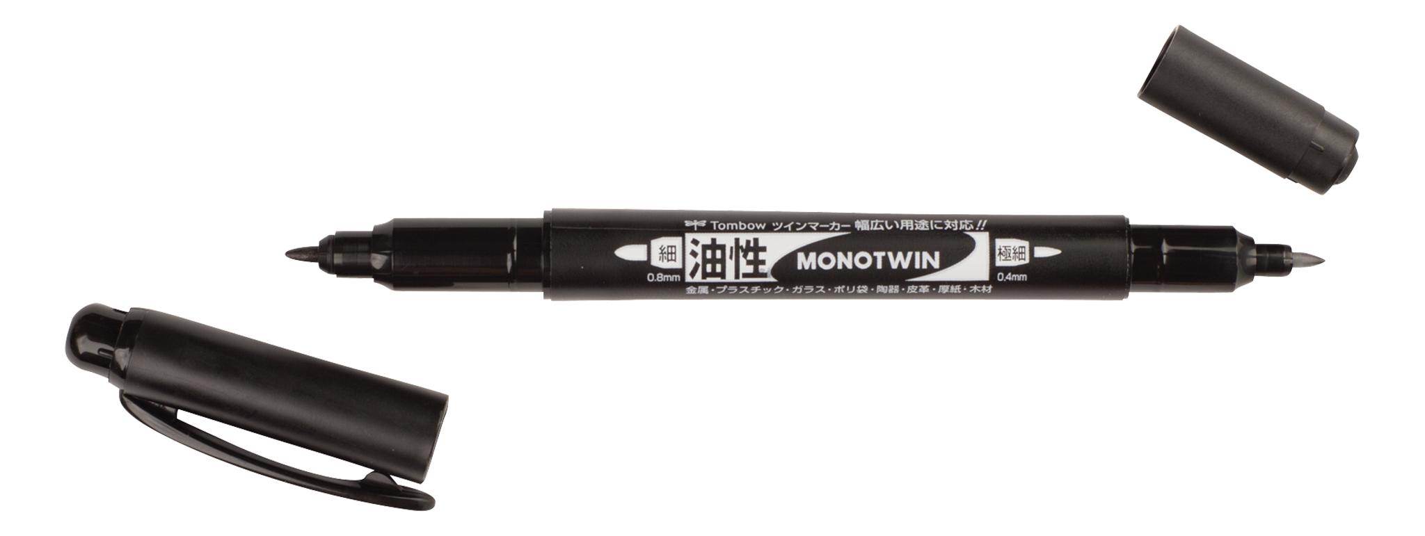 Image of   Fineliner Tombow MONO twin pen 0,4/0,8