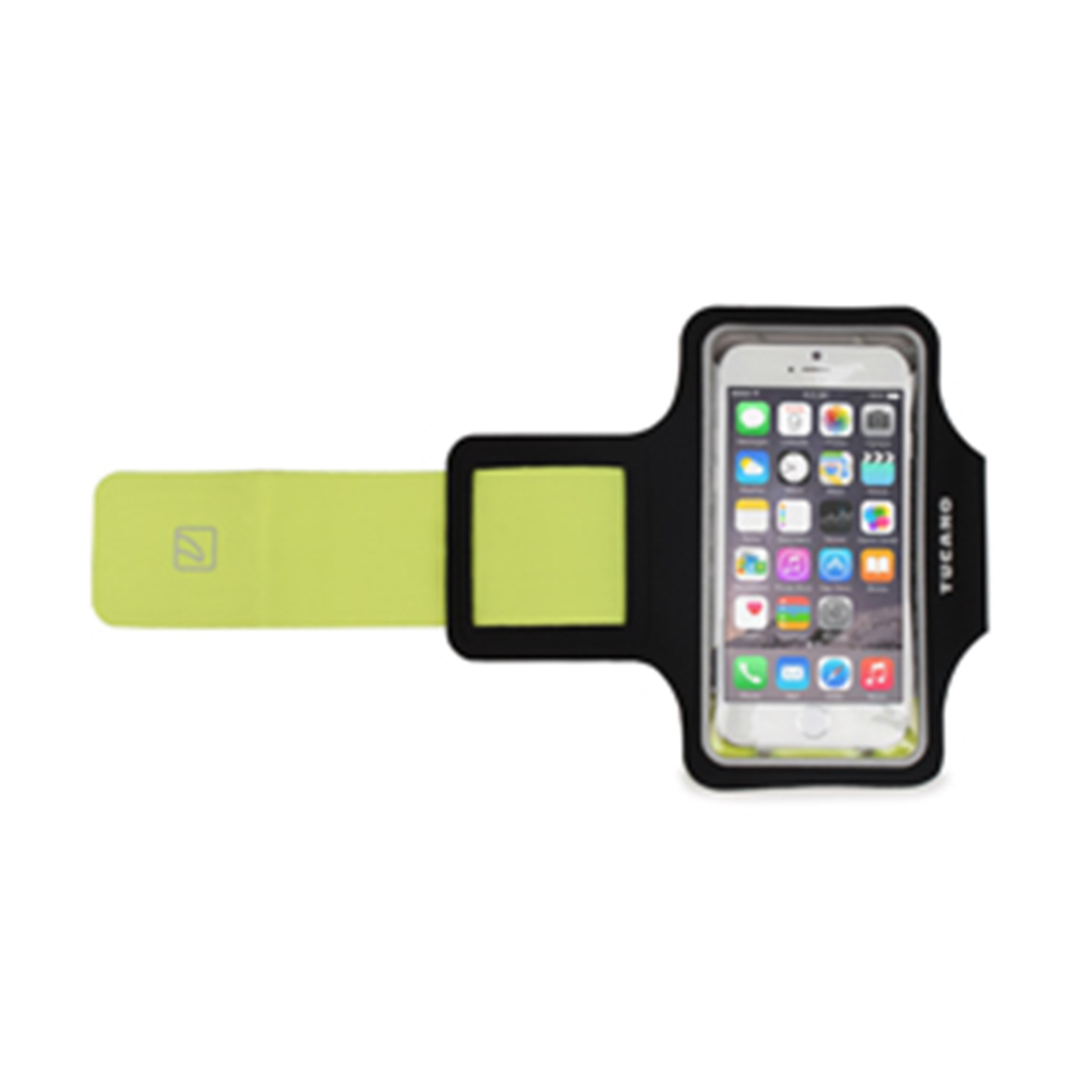 "Image of 5"" Smartphones Sport Armband, Black - TUC69001"
