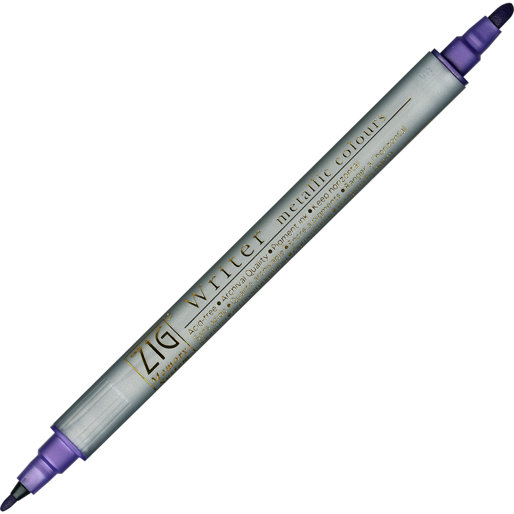 Image of   ZIG Metallic Writer MS-8000 lilla
