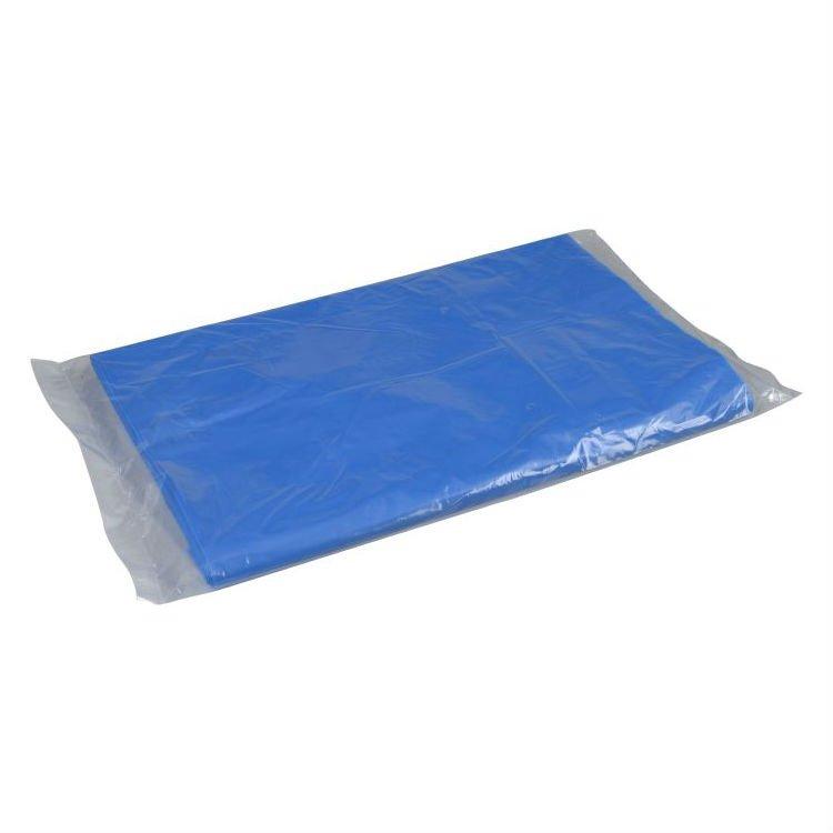 Image of Abena engangsforklæde, blåt, 35 my, 85x130 cm, 500 stk.