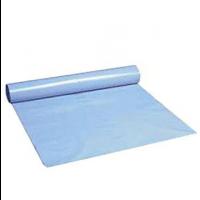 Blå sæk, 760x1030 mm, 55 my, 15 rl. á 10 stk.
