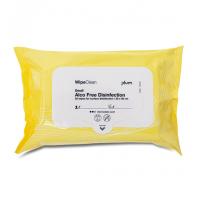 Plum-Clinical-Desinfection-wipe-desinfektionsservietter-small-30-x-20-cm-25-stk.-gul-104321