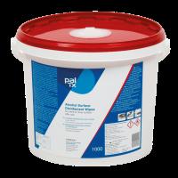 PAL TX 200, desinfektionsserviet med ethanol, blå, 190x205 mm, 1000 stk.