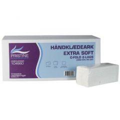 Pristine Extra Soft, 2-lag håndklædeark, 2280 ark, 23x32x8 cm
