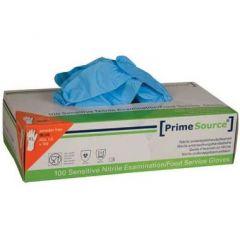 Prime Source nitril engangshandsker, blå, sensitive, str. XXL, 90 stk.