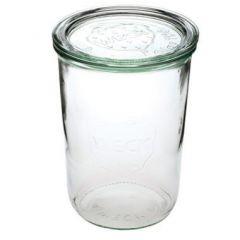 Patentglas Weck, u. låg, Ø10,8xH14,7 cm, 850 ml