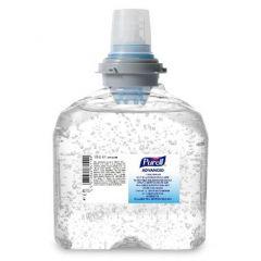 Purell Advanced Hygienic Hand Rub, Hånddesinfektion i Gelform, 1200 ml. Refill til TFX dispenser
