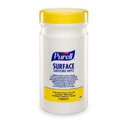 Purell spritservietter 200 stk., 13x21 cm, blå