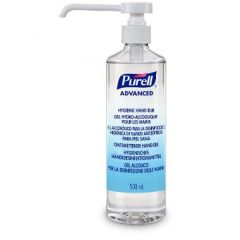 Purell Hygenic Hand Rub, håndsprit gel med pumpe, 500 ml