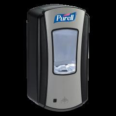 Purell berøringsfri LTX dispenser til hånddesinfektion, sort/krom, 1200 ml.