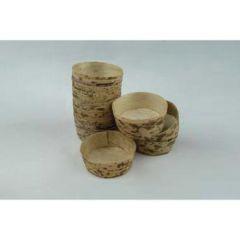Bambusskål, Ø55 mm, 100 stk.
