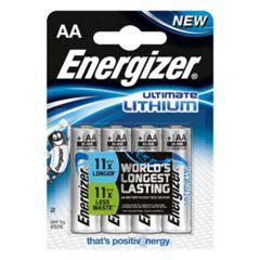 Energizer Ultimate Lithium AA (4)