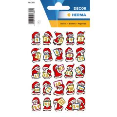 Herma stickers Decor kalender julemand 1-24 (2)