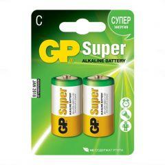 GP Super, batteri Alkaline, C, 2-pak