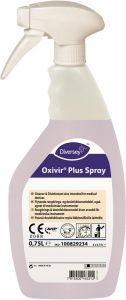 Oxivir Plus spray, desinfektion, klar-til-brug, 750 ml