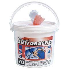 Antigraffiti wipes 70 stk.