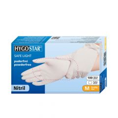 Hygostar Safe Light, Engangshandsker, Nitril, 100 stk.