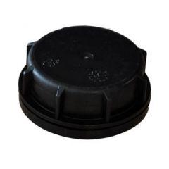 Kapsel, til 20 og 25 l dunke m. hals 60 mm, sort
