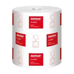 Katrin Classic System Towel M2, håndklæderulle 2-lag, 160 meter