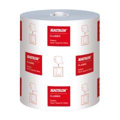 Katrin Classic System Towel M2, håndklæderulle 2-lag, blå, 130 meter