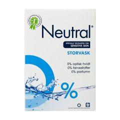 Neutral Storvask, vaskepulver 1,275 kg