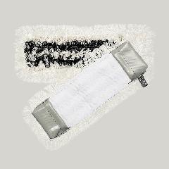 TenZip Dryp Mop, drypmoppe med lomme og løkke, 40 cm