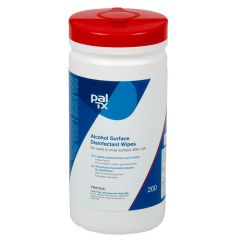 PAL TX 200, desinfektionsserviet med ethanol, blå, 190x205 mm, 200 stk.