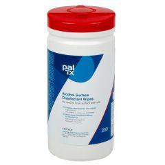 PAL TX 200, desinfektionsserviet med ethanol, hvid, 190x205 mm, 200 stk.