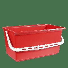Ringo plastspand, rød, 25 L