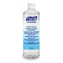Purell Hygenic Hand Rub,  håndsprit gel med snaplåg, 500 ml