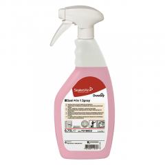 TASKI Sani 4-in-1 Spray, sanitetsrengøring, 750 ml.