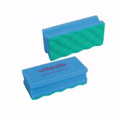Vileda Pur Active, ridsefri rengøringssvamp, blå