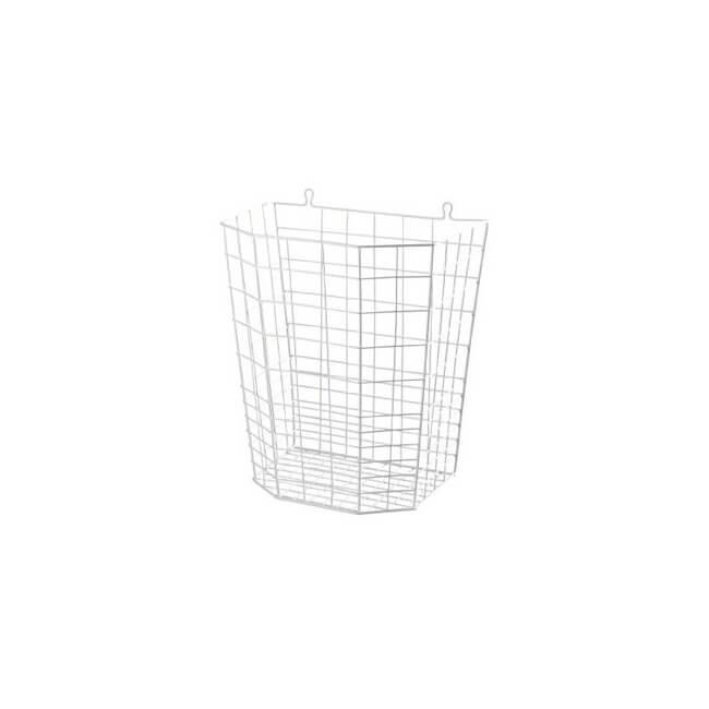 Image of Affaldskurv / trådkurv, hvid, 20 L