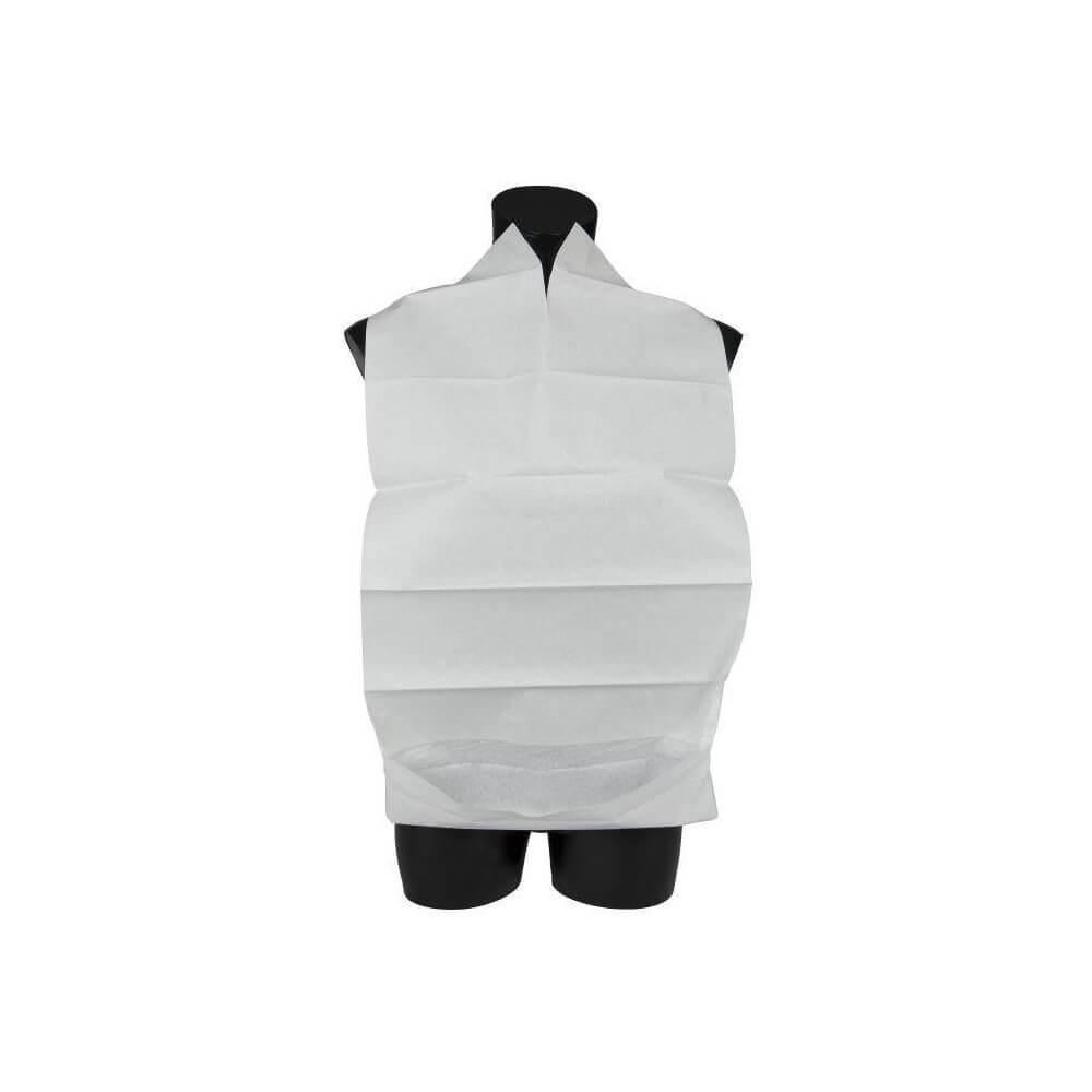 Image of Abena, Spisestykke, hvid, med vendbar lomme, 38x70 cm., 100 stk.