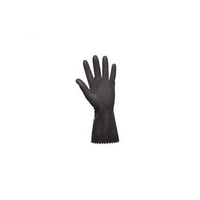 Image of   Thor Flex Dry, halvdyppet latexhandske m. nitril granulat på fingerspidser | Large