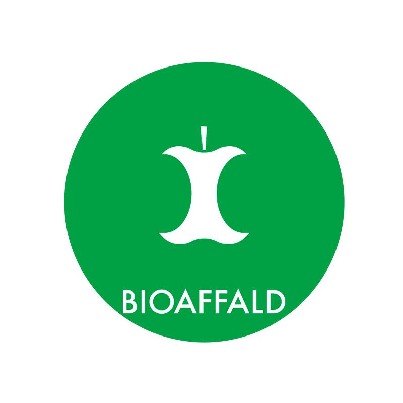 Image of   Piktogram til affaldssortering, Bioaffald
