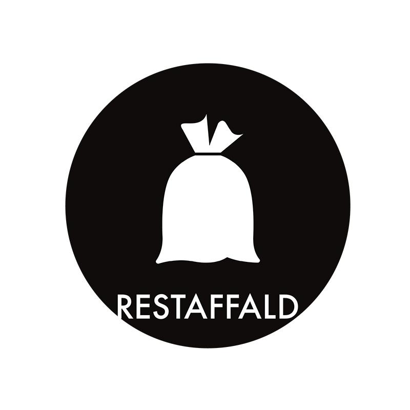 Image of   Piktogram til affaldssortering, Restaffald