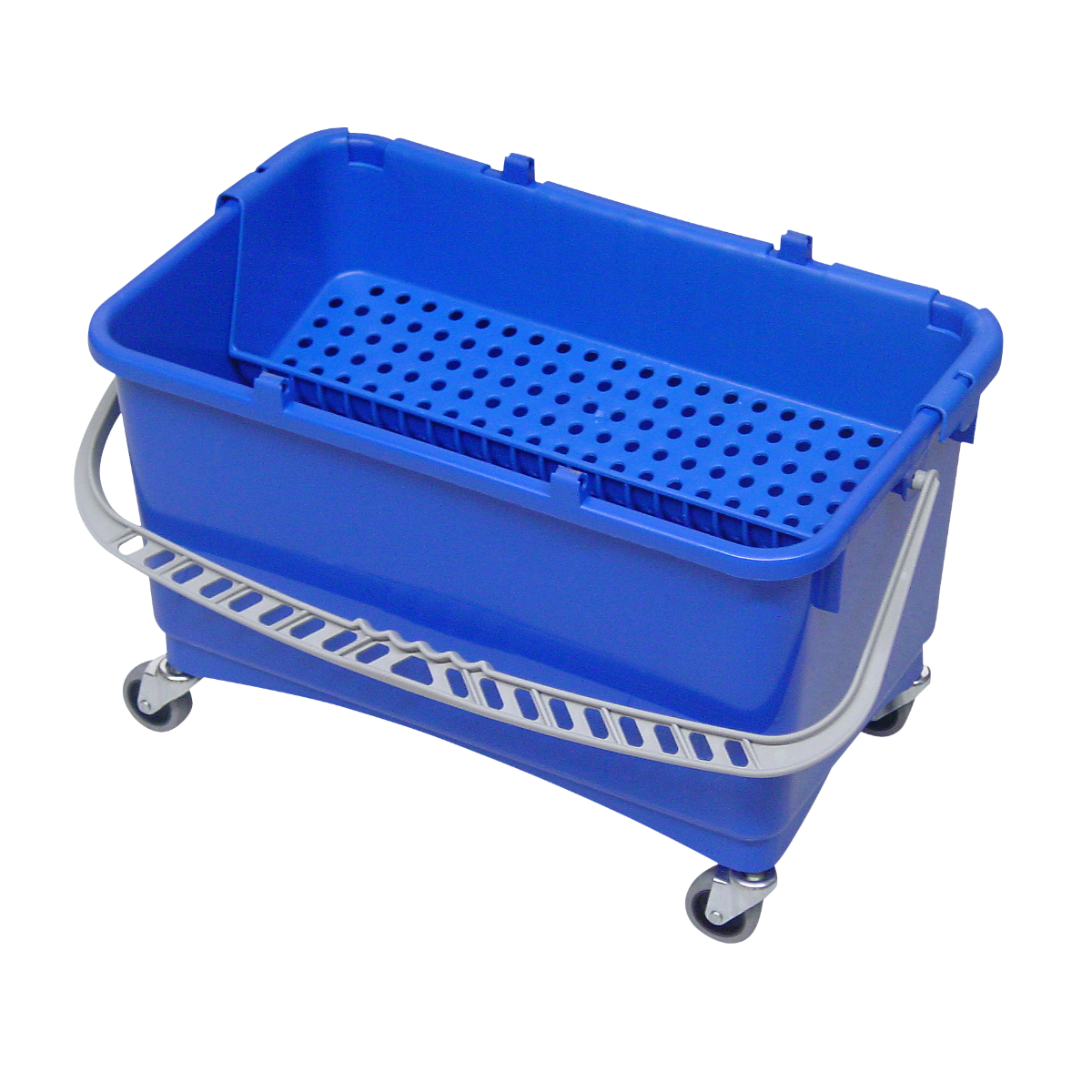 Image of   Drypspand med rist og hjul, 28 L