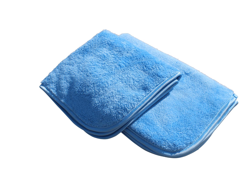 Image of   AUTO Polering / klargøringsklud i microfiber, blå   60x40 cm