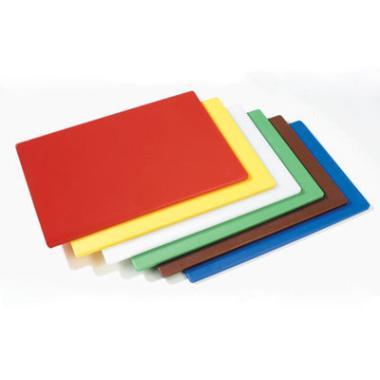 Billede af Skærebræt, gult, PE plast, 45x30 cm