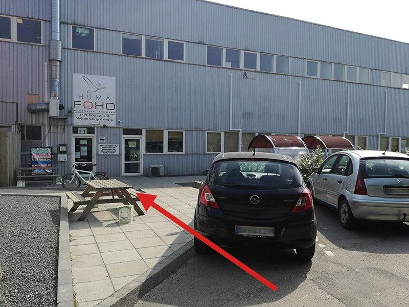 Indgang til HUMA.dk ApS